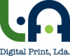 Logo L. A. Digital Print, Lda.
