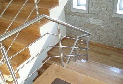 Foto 2 de Gradeamentos varandas inox, Escadas, Inox, Portoes, Varandas