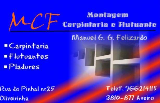 Foto 1 de MCF- Montagem, Carpintaria e Flutuante