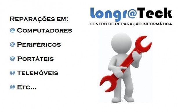 Foto 1 de Longrateck - Centro de Reparação Informática