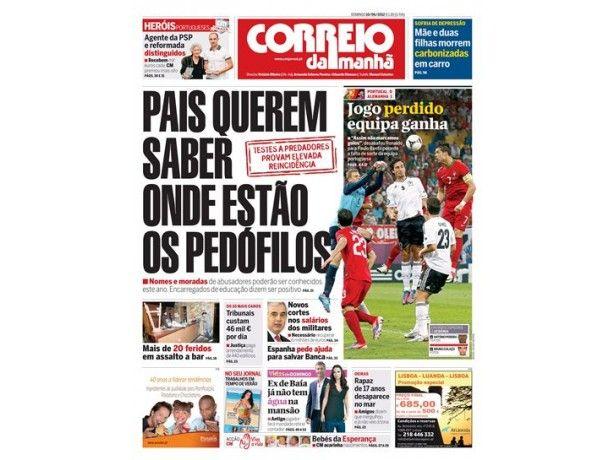 Foto 1 de Jornal Correio da Manhã, Leiria