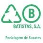 Logo Baptistas, Estaleiro Alhos Vedros - Reciclagem de Sucatas, SA