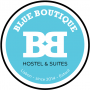 Logo Blue Boutique - Hostel & Suites