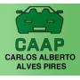 Logo CAAP, Carlos Alberto Alves Pires, Lda - Sucata de Automóveis