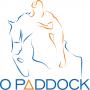 """Logo Clube Equestre de Janas """"O Paddock"""""""