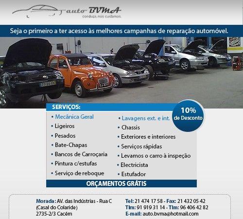 Foto 1 de Auto Bvma - Reparações Automóveis, Lda