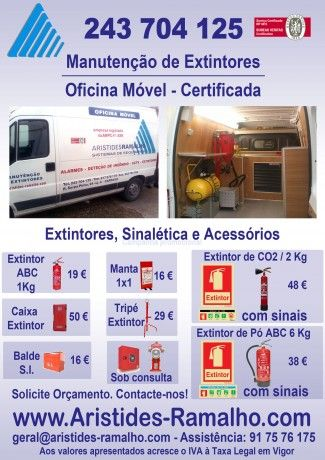Foto 1 de Aristides Ramalho - Sistemas de Segurança, Unip., Lda