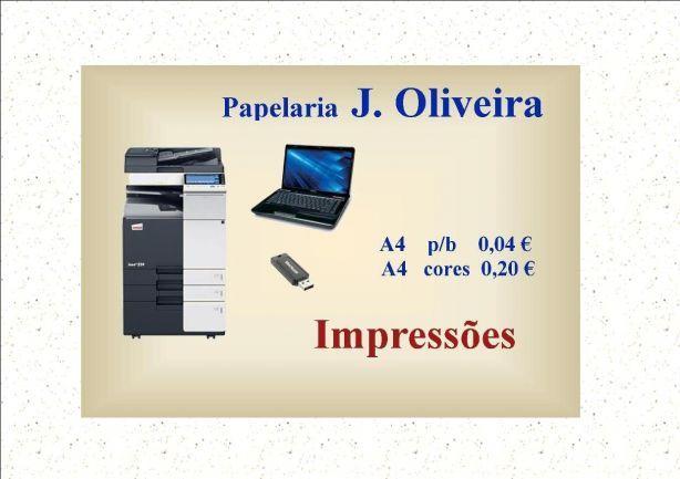 Foto 2 de Papelaria J. Oliveira