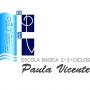 Logo Escola Básica dos 2º e 3º Ciclos de Paula Vicente