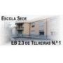Logo Escola Básica dos 2º e 3º Ciclos de Telheiras