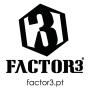 Logo Factor3 - Eventos & Aventura