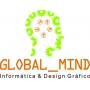 Logo Global_Mind - Informática & Design Gráfico