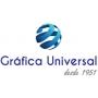 Logo Gráfica Universal - Gráfica, Impressão Offset, Estacionário