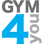 Logo Gym4you - Ginásio Low Cost