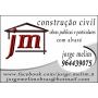 Logo Jorge Melim - Construção Civil