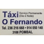 Logo Táxis Fernando Martins