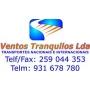 Logo Ventos Tranquilos - Unipessoal Lda